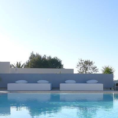 Hotel Los Jardines De Palerm : Chill out Pool