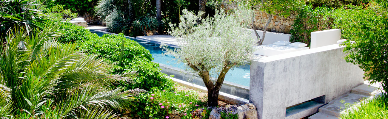 Small Design Hotel Ibiza San Jose Jardines De Palerm View of the Unpredictable  and Luxurious Garden